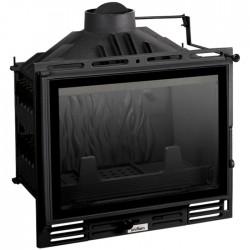 UNIFLAM 600 PLUS z szybrem, doprowadzenie powietrza, żeliwny francuski wkład kominkowy, najlepsza cena - KBkominki.com