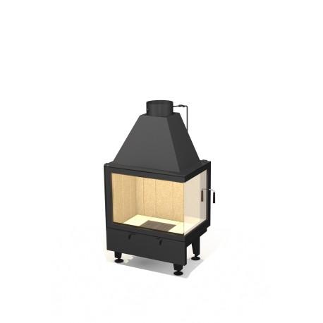 Wkład kominkowy ARYSTO A10 L lub P  / 670+450x450 DJ
