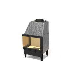 Wkład kominkowy z płaszczem wodnym ARYSTO A10 WW L lub P / 670+450x510 DJ