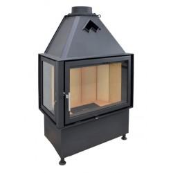 Kobok Corner 900/500 450 L ze szprosem