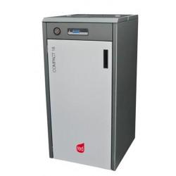 Kocioł na pelet RED Compact 18 (3,8-17,0 kW) CO+CWU z pompą elektroniczną