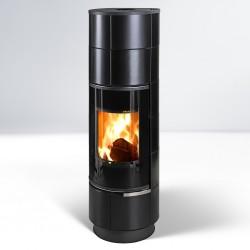 Delia Plus kafel czarny mat 7,5 kW - Thorma