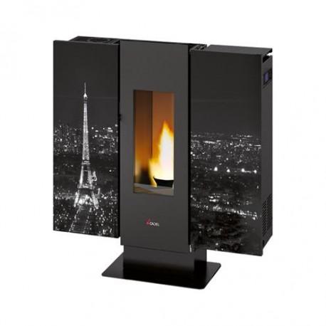 Piecyk na pelet Wall Air Paris 9,0 kW - Cadel