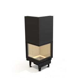 Wkład kominkowy ARYSTO A10 L lub P / 450+450x510 DJ H