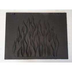 Tylna płyta ozdobna do wkładu kominkowego Laudel / Invicta / Uniflam 700 Selenic, Standard, ref. 700361