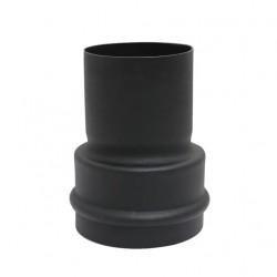 Redukcja czarna fi -80/+100mm na pelet / pellet