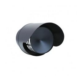 Wyrzutnia z osłoną czarna fi 80mm na pelet / pellet